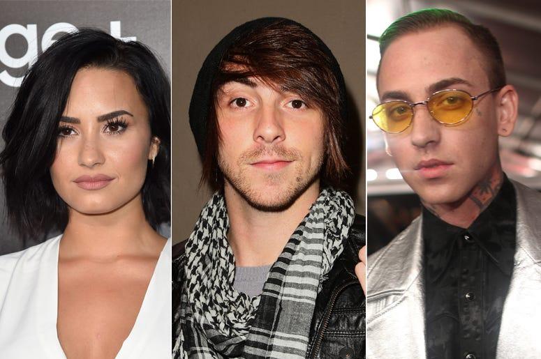Demi Lovato, Alex Gaskarth, Blackbear