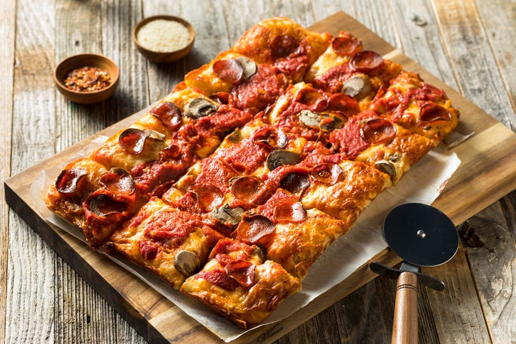 Pizza Hut introduces Detroit style pizza