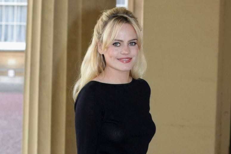 Welsh singer Duffy attends a Performing Arts reception at Buckingham Palace on May 9, 2011