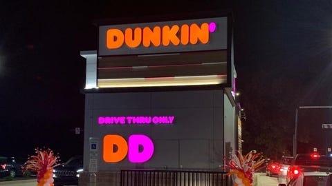 Dunkin' Grand Opening