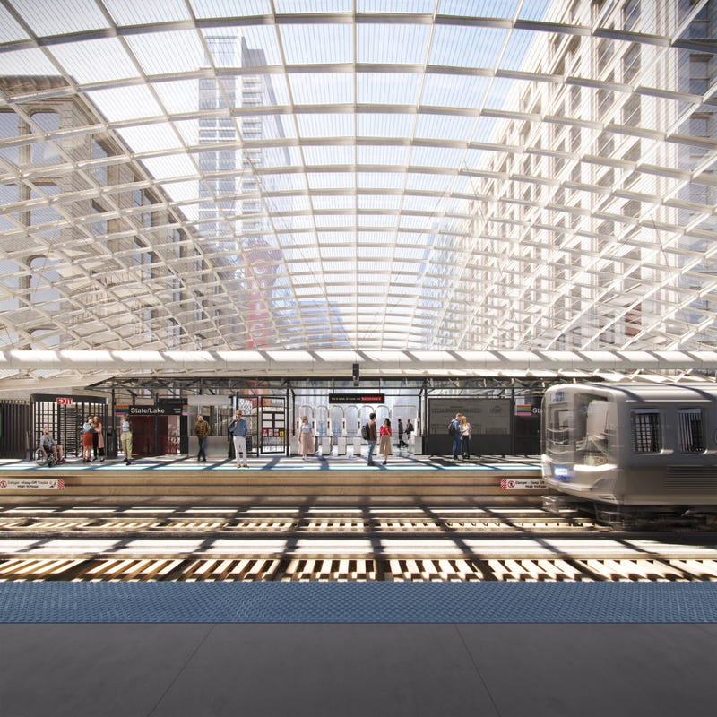 Mayor Lightfoot, the Chicago Department of Transportation, and the Chicago Transit Authority unveiled the preliminary design concepts Wednesday for a rebuilt State/Lake 'L' station, the latest marquee project in the modernization of the nation's second-largest transit agency.