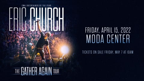 Eric Church - The Gather Again Tour