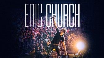 """Eric Church """"THE GATHER AGAIN TOUR"""""""