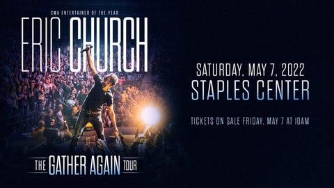 """Eric Church """"The Gather Again"""" Tour"""