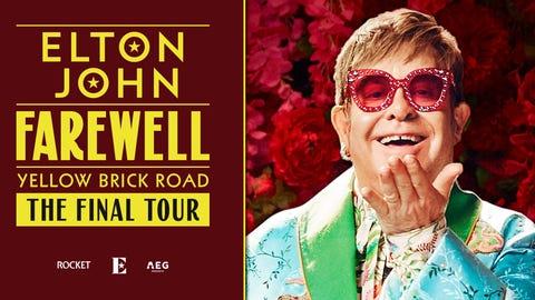 Elton John - Farewell Yellow Brick Road