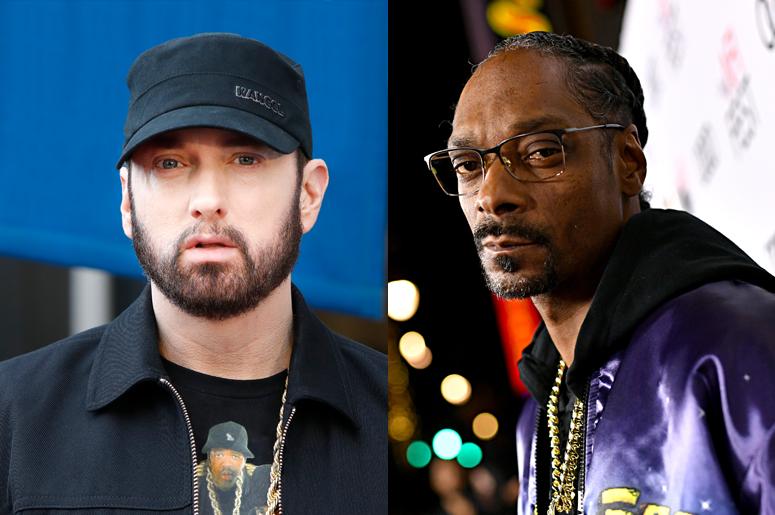 Eminem and Snoop Dogg