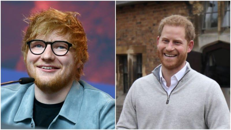 Ed Sheeran, Prince Harry