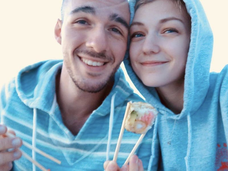 Brian Laundrie and Gabby Petito