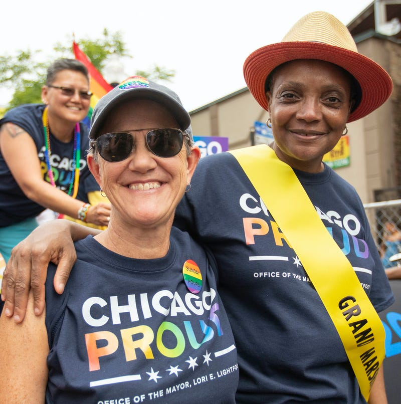 Chicago Mayor Lori Lightfoot shares photo on National Coming Out Day