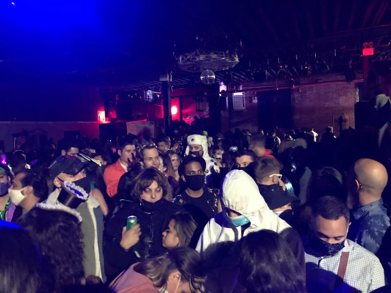 Brooklyn warehouse party