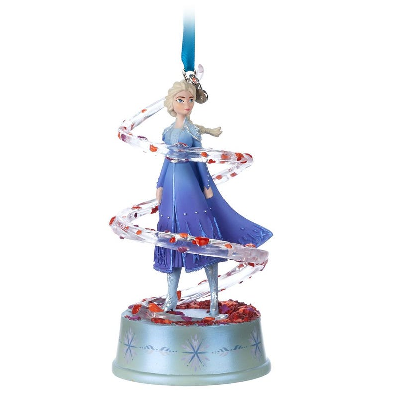 Elsa Singing Living Magic Sketchbook Ornament Disney 2020
