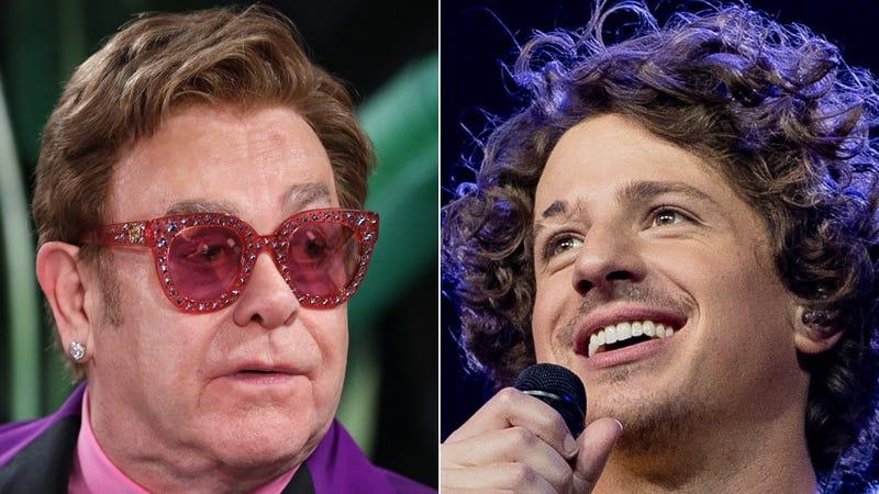 Elton John and Charlie Puth