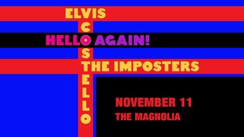 Elvis Costello 'Hello Again!' Tour Stops in San Diego