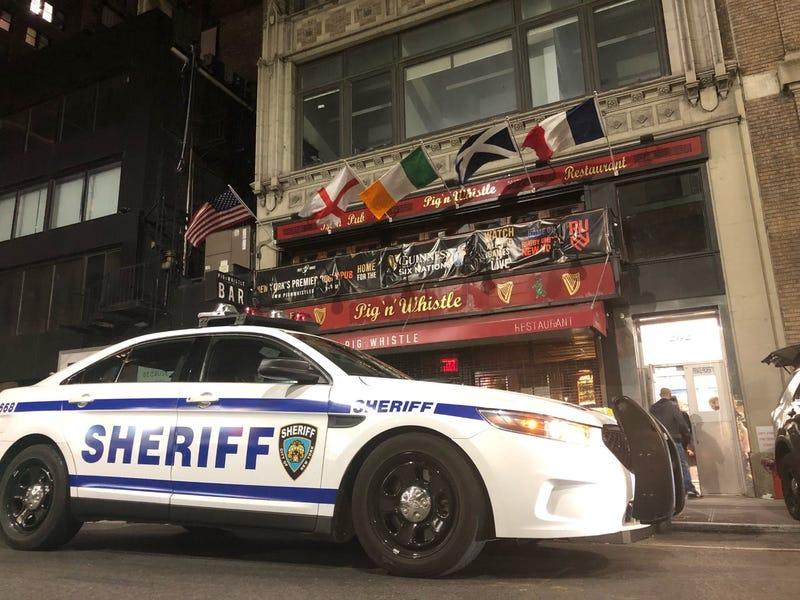 Sheriff COVID bust