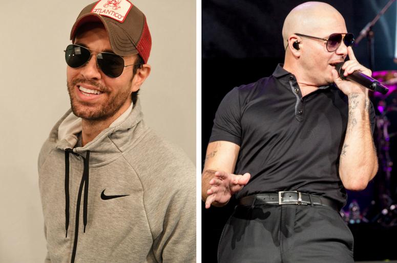 Listen Enrique Iglesias Pitbull Release Summer Jam Move To Miami
