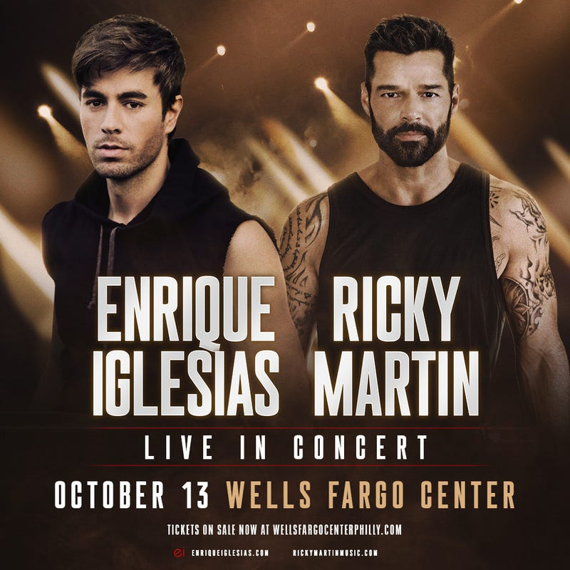 Enrique Ricky Martin in Philly