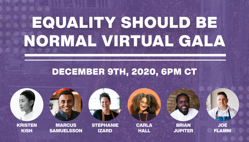 Equality Should Be Normal Virtual Gala