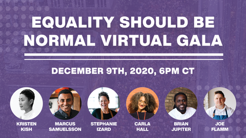 Join Us At The First Equality Should Be Normal Virtual Gala