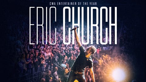 Eric Church in Knoxville
