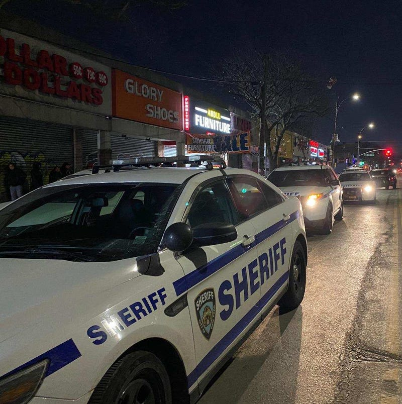 Queens party raided