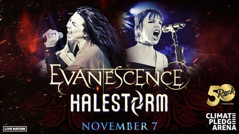 KISW Presents Evanescence + Halestorm
