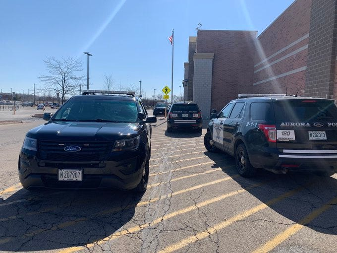 Aurora police responded to an unfounded bomb threat March 4 at a Walmart store.