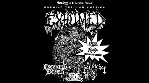 KISW Metal Shop Presents: Exhumed - Worming Through America