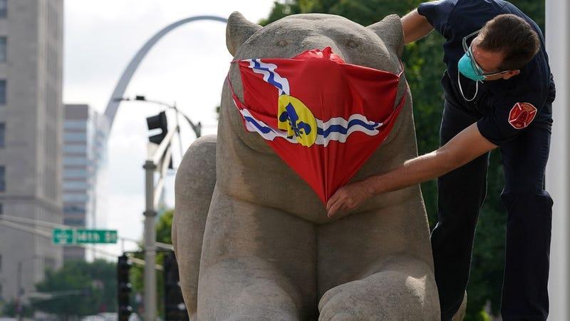 St. Louis face mask