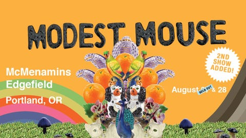 Modest Mouse - second date