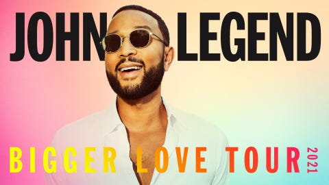John Legend - Bigger Love Tour
