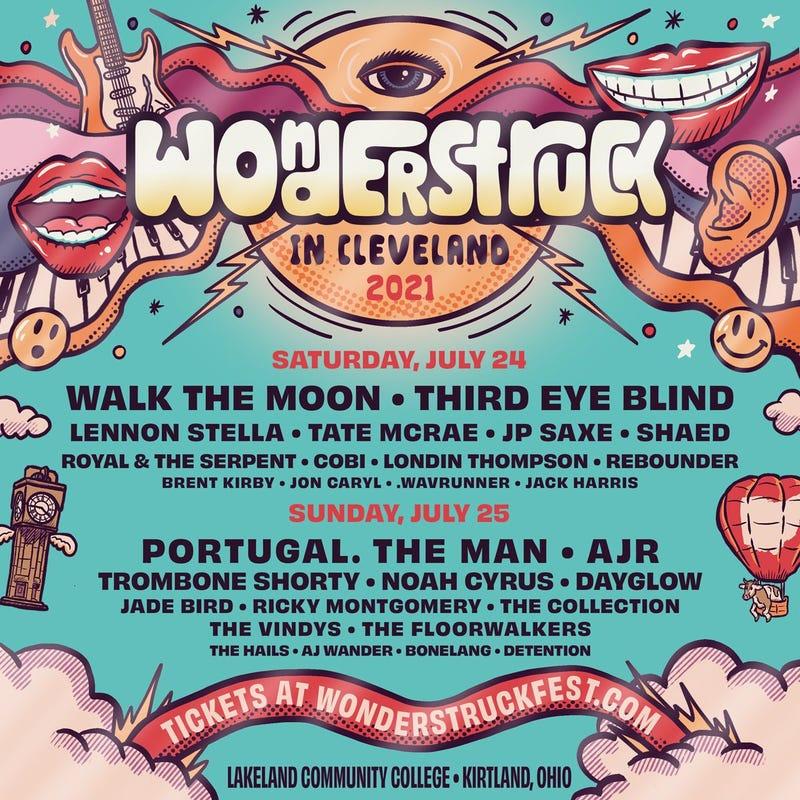 Wonderstruck in Cleveland Line up
