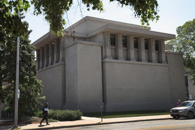 Oak Park Unity Temple Frank Lloyd Wright