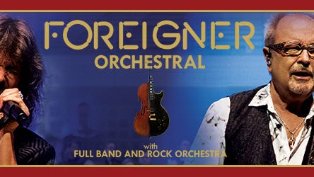 FOREIGNER ORCHESTRAL