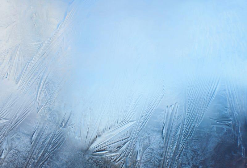 Frost winter illustration