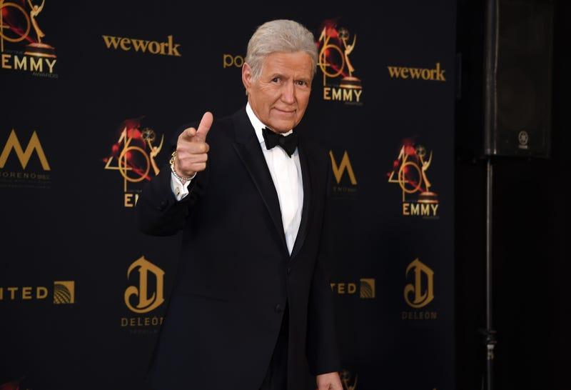 'Jeopardy!' host Alex Trebek at the Daytime Emmy Awards