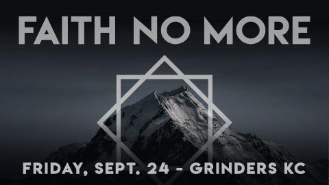 98.9 The Rock Presents: Faith No More