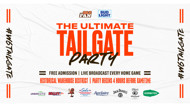 Fan Tailgate - Historic Warehouse District on West 6th
