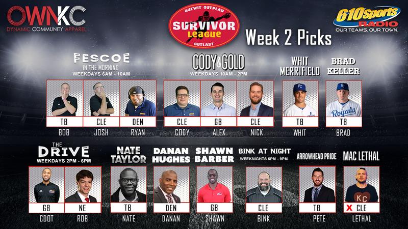 610 Sports Radio Survivor League 2021