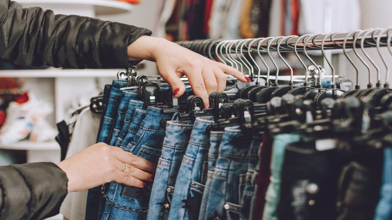 Jeans Fast Fashion example Getty Images