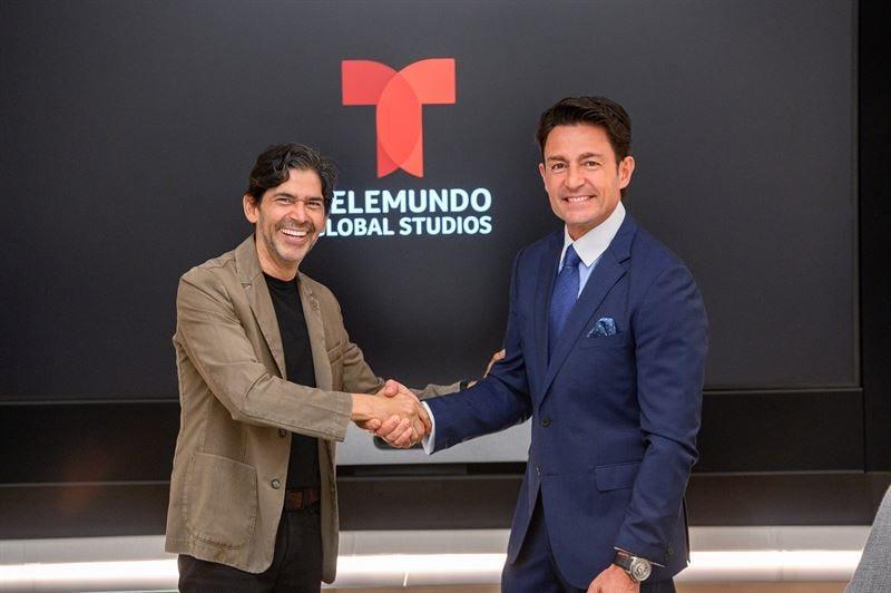 Fernando Colunga firma acuerdo con Telemundo