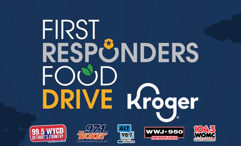 First Responders Food Drive