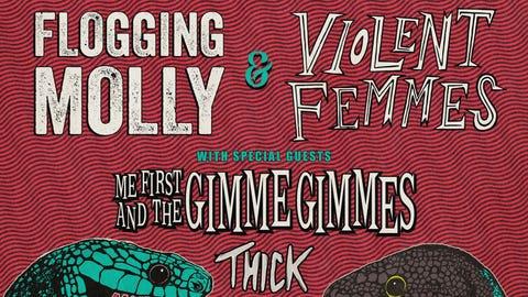 Flogging Molly & Violent Femmes - United States Co-headline Tour