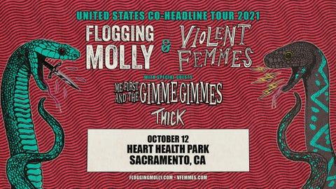 Flogging Molly and Violent Femmes