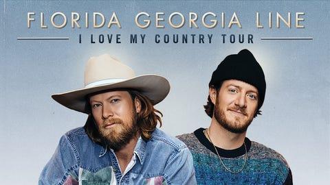 """Florida Georgia Line's """"I Love MyCountry"""" 2021 Tour"""