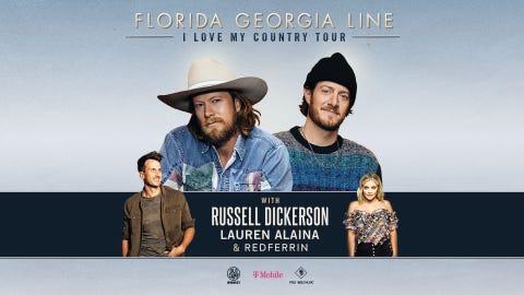 Florida Georgia Line: I Love My Country Tour 2021 (Raleigh)