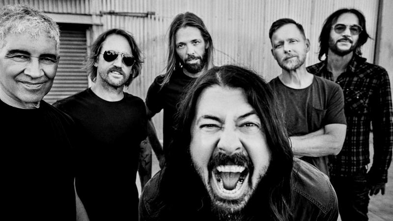 See the Foo Fighters in Alaska