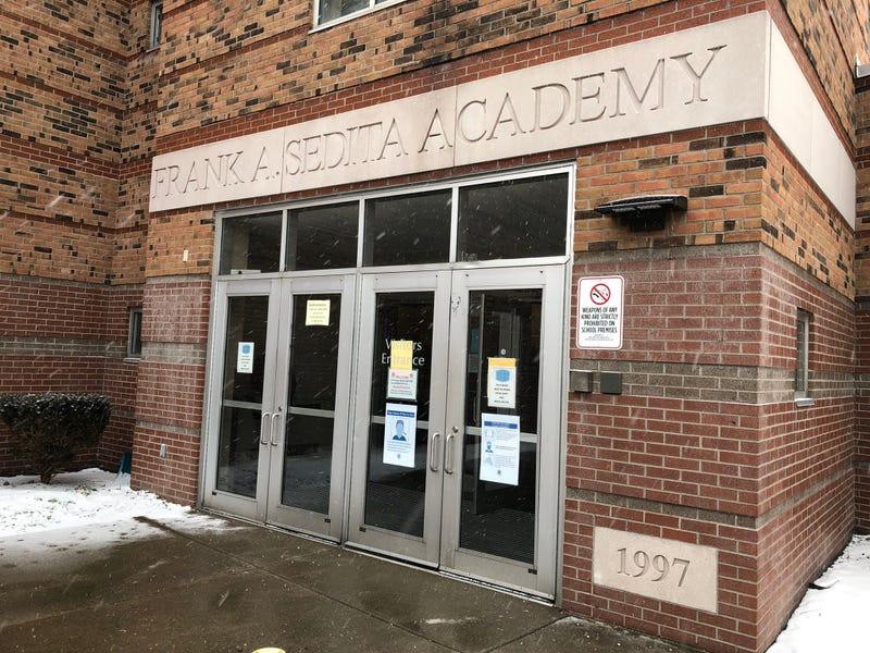 Frank Sedita Academy in Buffalo. February 1, 2021