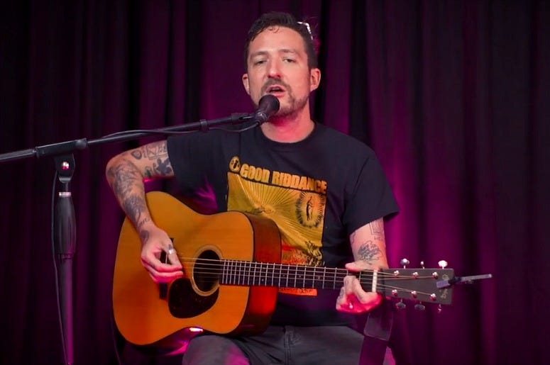 Frank Turner performs for RADIO.COM