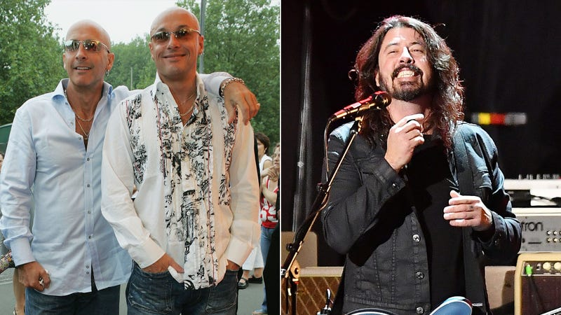 Right Said Fred, Dave Grohl of Foo Fighters