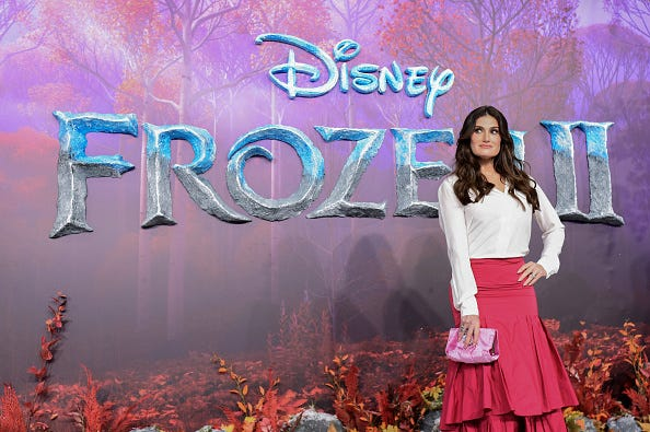 Idina Menzel for Frozen 2